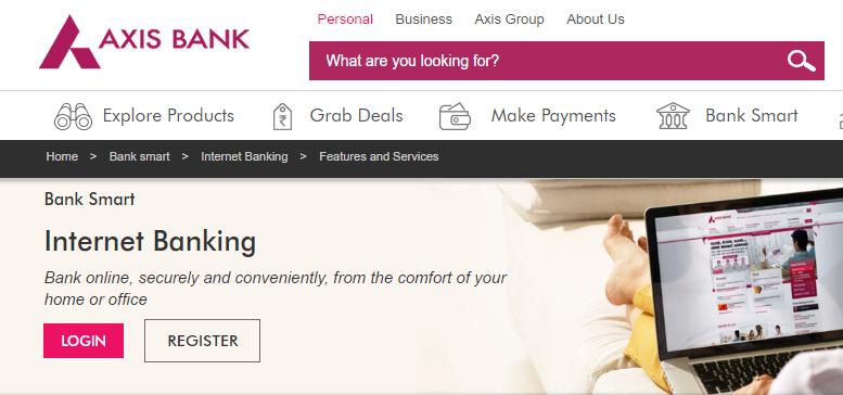 Axisbank Net Banking