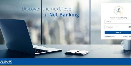 How To Activate/Register For Federal Bank Net Banking Online