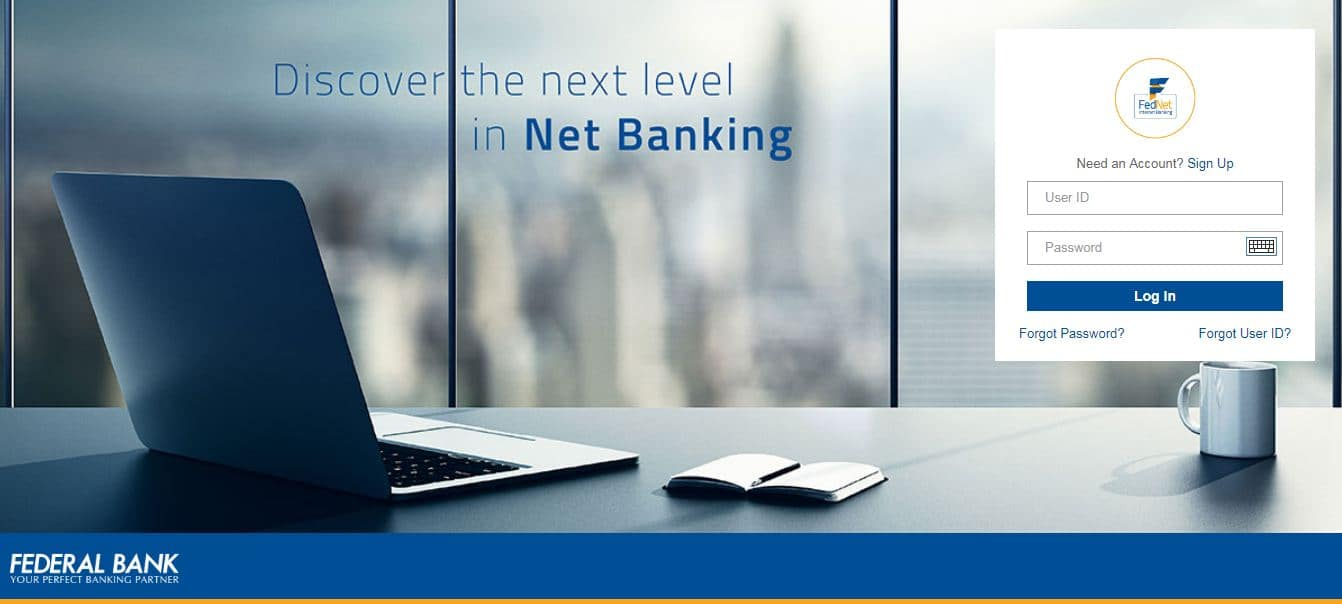 Federal Bank Net Banking – How to Activate and Login?