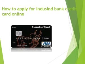 IndusInd bank credit card