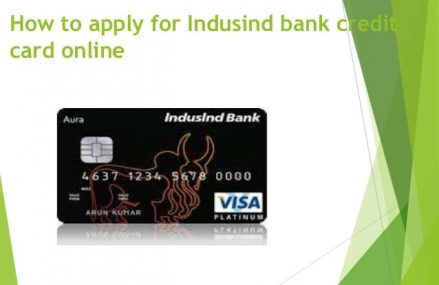 How to Apply/Check IndusInd Bank Credit Cards Status Online
