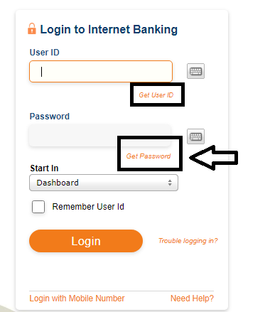 ICICI Bank Internet Banking password