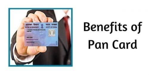 Uses of Pan Card
