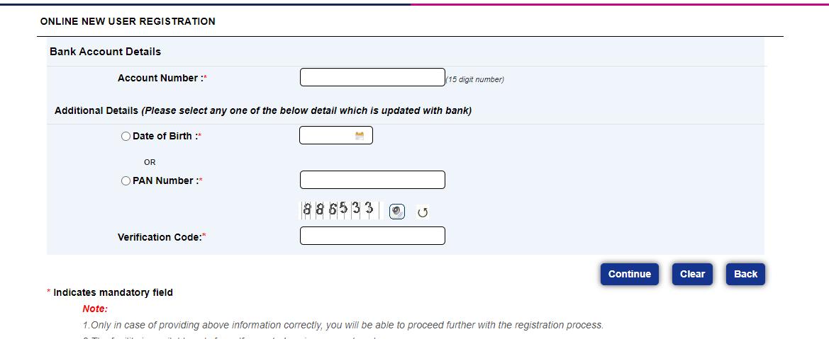 TMB Net Banking registration