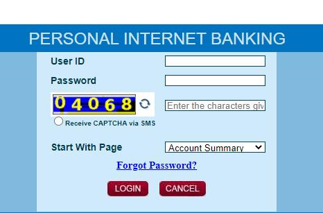 CBI Net Banking Login