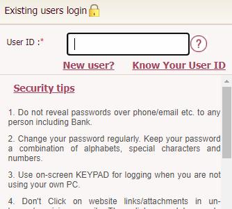 OBC Internet Banking login