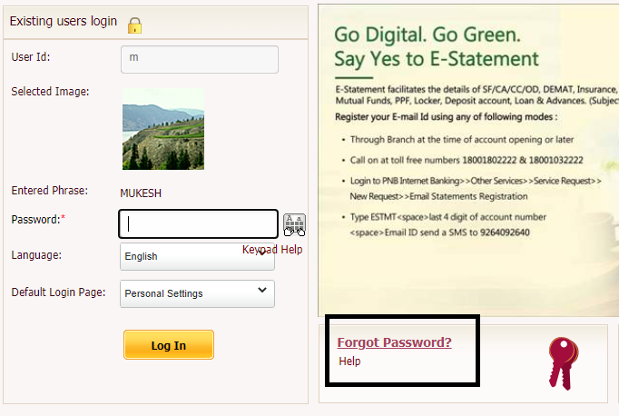 OBC Internet Banking