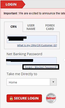 Kotak 811 forget password