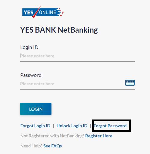 YES Bank Internet Banking