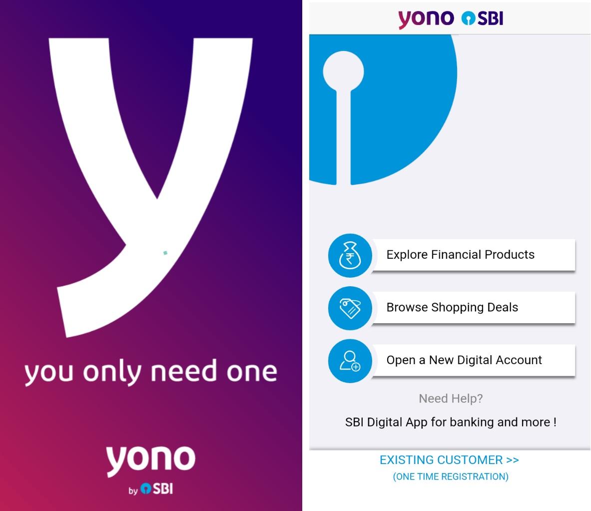 sbi yono