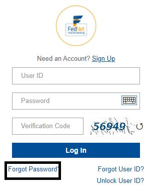 Federal Bank Net Banking password