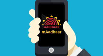 mAadhaar App – How to Download mAadhar and Services?